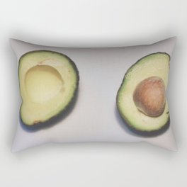 Healthy Fats | Avocado (2) Rectangular Pillow