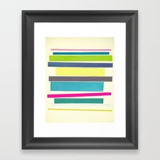 Layered Framed Art Print