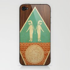 them and us iPhone & iPod Skin