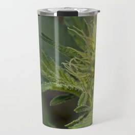 Cannabis Flower Bud Travel Mug