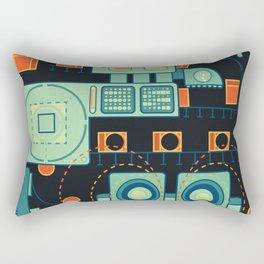 Word Machine Rectangular Pillow
