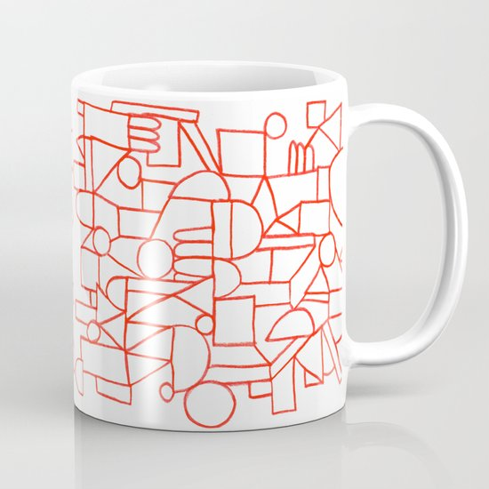 Rad lines Mug