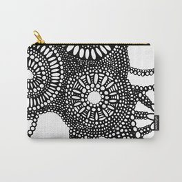 graphic dots pattern Carry-All Pouch