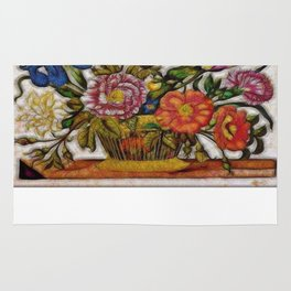 Flower Basket Rug