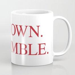 SIT DOWN.BE HUMBLE. Kendrick Hip-Hop Design Coffee Mug