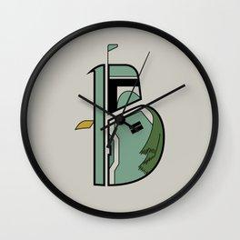 B is for Boba Fett Wall Clock