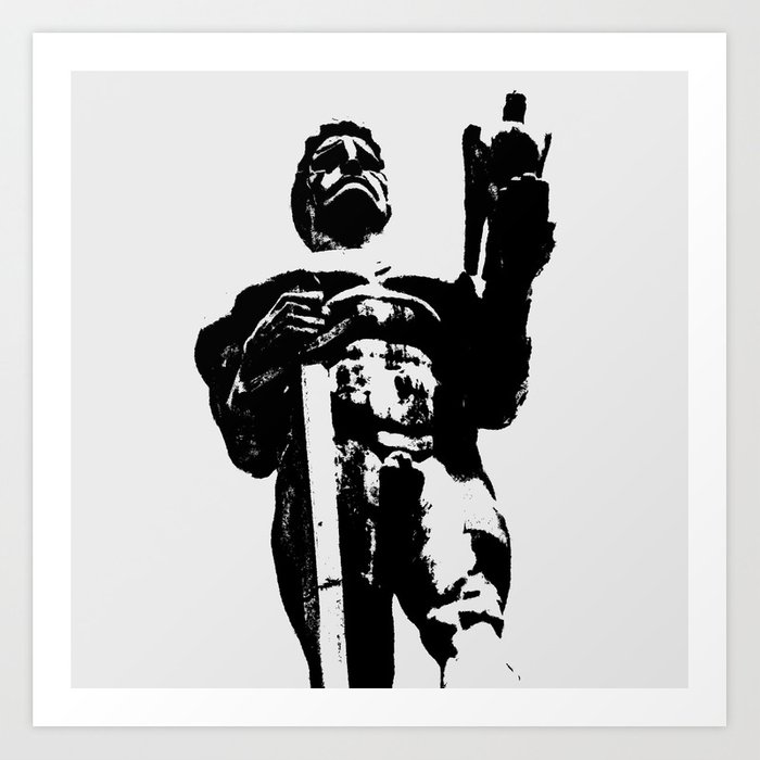 The Victor (Pobednik) II Art Print