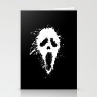 scream Stationery Cards featuring Scream by DanielBergerDesign