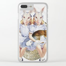 The Visual Perceptions of My Second Self Clear iPhone Case