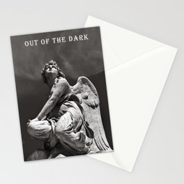 OUT OF THE DARK - INTO THE LIGHT Stationery Cards