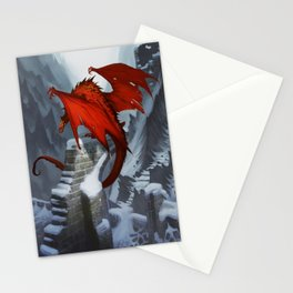 Dragons last light Stationery Cards