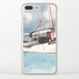 Fishing Boats, Key West Clear iPhone Case