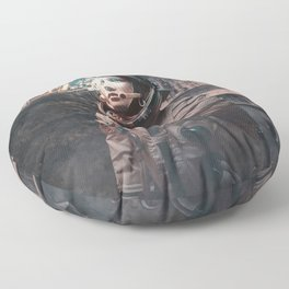 Uknown Entity Detected Floor Pillow