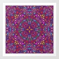 kaleidoscope Art Prints featuring Kaleidoscope by David Zydd