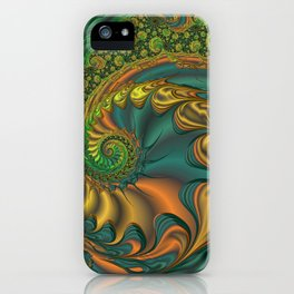 Dragon's Lair - Fractal Art iPhone Case