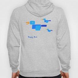 Happy Bird-Blue Hoody