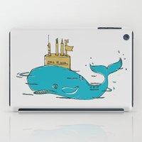 submarine iPad Cases featuring SUBMARINE by yamini