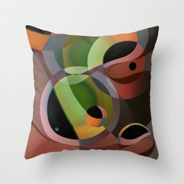 Warm Wind Waning Throw Pillow