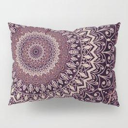 MARSALA MANDALA Pillow Sham