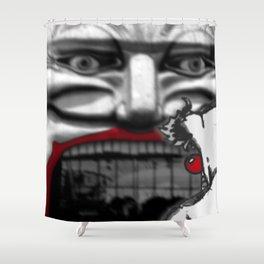 For Shame v2: Carnivale Shower Curtain