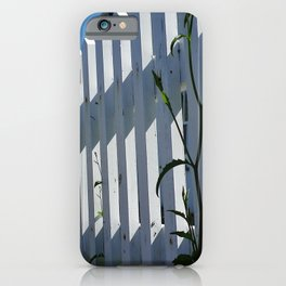 WHITE PICKET FENCE PORT ISAAC CORNWALL iPhone Case