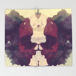 Test de Rorschach IX Throw Blanket