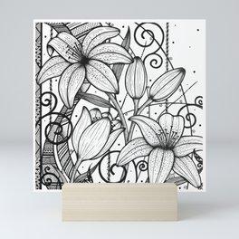 Lily Square Wall Art Mini Art Print