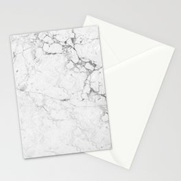 Marble Bianco Stationery Cards