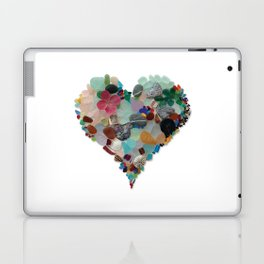 Love - Original Sea Glass Heart Laptop & iPad Skin