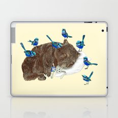 Wrens Wombat sleep Laptop & iPad Skin