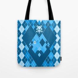 Arrrrrgyle -Blue Tote Bag