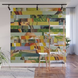 Don't Entirely Trust the Gardener (Provenance Series) Wall Mural