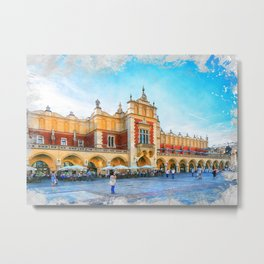 Cracow art 15 #cracow #krakow #city Metal Print