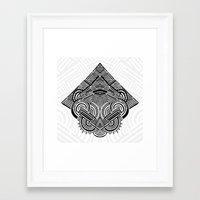 rocket Framed Art Prints featuring Rocket by Hngeb