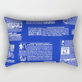 MCM CLASSIFIED Rectangular Pillow