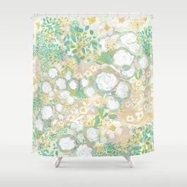 French Fleurs Shower Curtain
