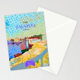 FAUVISTa Sailboats Stationery Cards