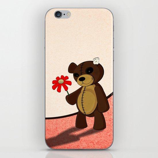 Sweet teddy iPhone & iPod Skin