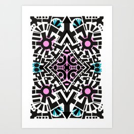 Lost Time Ticking Art Print
