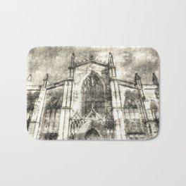 St Giles Cathedral Edinburgh Vintage Bath Mat