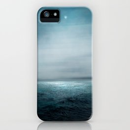 Sea Under Moonlight iPhone Case