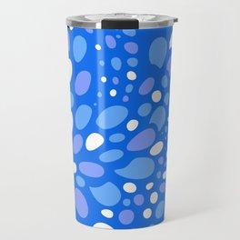 Mosaic Dots: Atlantic Blue Travel Mug