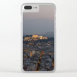 Acropolis of Athens Clear iPhone Case