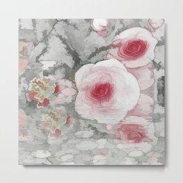 Floral Mirage Metal Print