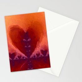 Multiply Love. Abstract Art by Tito Stationery Cards