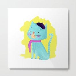 Pierre Cat Metal Print