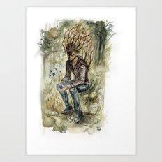 Spirit Of Trees Art Print