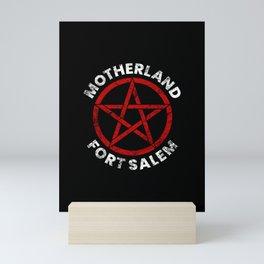 Motherland Fort Salem Distressed Pentagram Mini Art Print