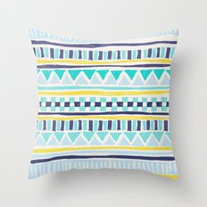 Tribal Thorn Throw Pillow