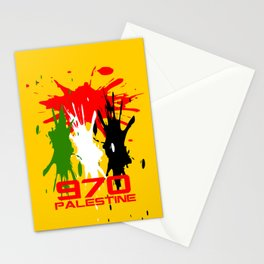 Palestine Code Stationery Cards